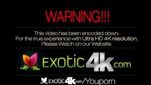 4K HD - Exotic4K Sexy latina girl get a load of cum