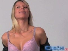 - Czech Blonde takes two...