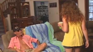 HOT teen BABE fucks her OLD Neighbor