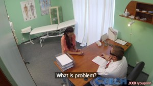 Czech Doctor intimately examines a married woman who can't seem to get pregnant