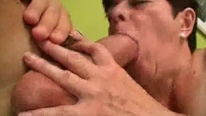 Finger Banged And Cock Sucking Granny
