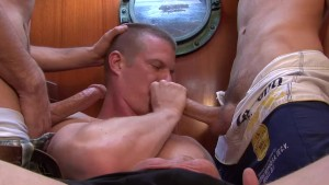 Seamen threesome - Cum Pig Men