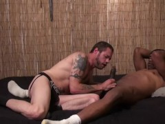 Pleasing a BBC - Damon Doggs Cum Factory