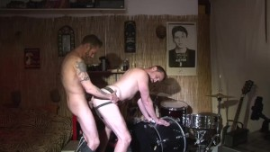 Pound me like a drum - Damon Doggs Cum Factory