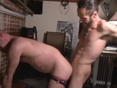 Nothing like a raw anal dicking - Damon Doggs Cum Factory