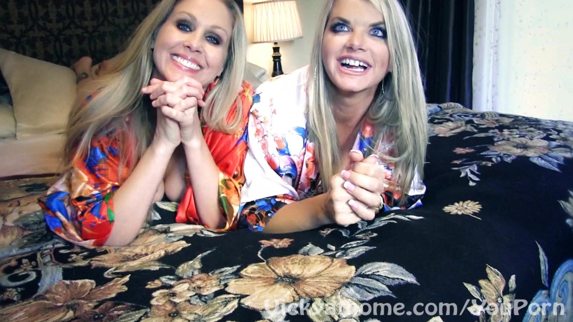 Superstar MILFS Vicky Vette & Julia Anns First EVER Video?!