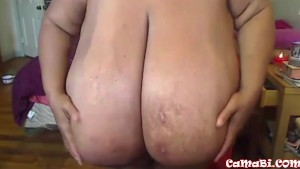 The Largest 102 Breast In The World