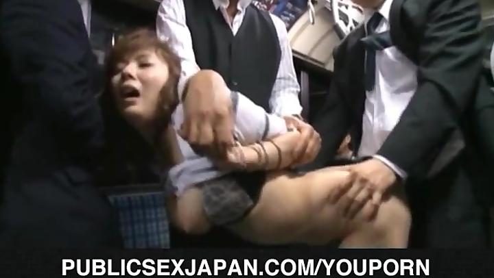 Yuma Asami busty gets doggy in