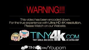 4K HD - Tiny4K Cutie Dillion Harper deepthroats a big cock