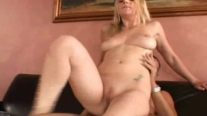 Blonde Swinger Wife has Big Boobs