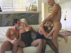 Two Huge Dicks For Two Tight-Pussies - CRITICAL X