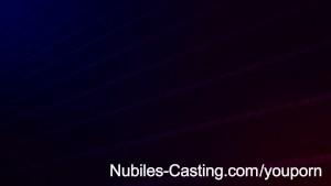 Nubiles Casting - Cute amateur nails hardcore casting
