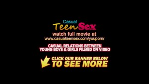 Casual Teen Sex - Teeny enjoys spontaneous anal