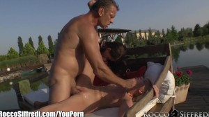 RoccoSiffredi Tiny Teen Goes Ass to Mouth