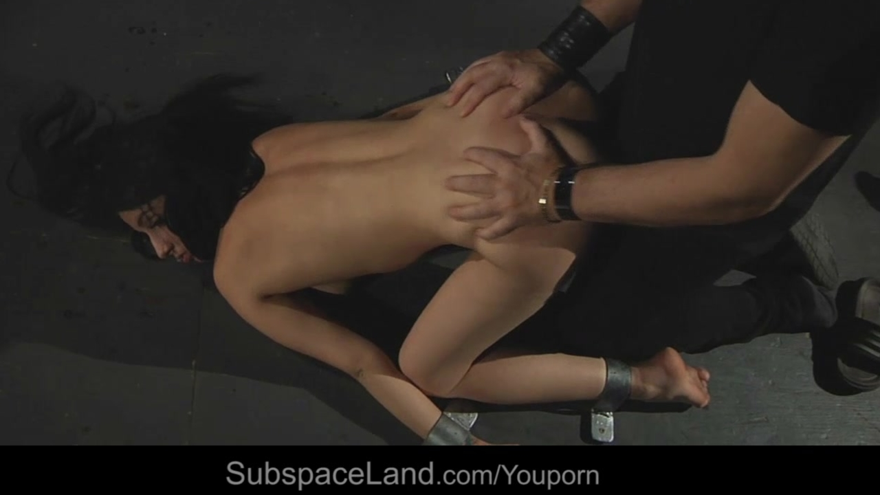 Sex slave slut tied and vibed for bondage fantasy acomplishment