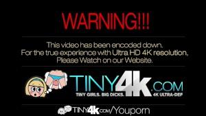 4K HD - Tiny4k Teen Jenna J Ross does yoga moves on big cock