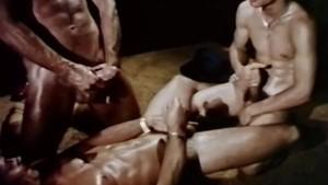Seventies Gay Disco Threeway - GREASE MONKEYS (1979)