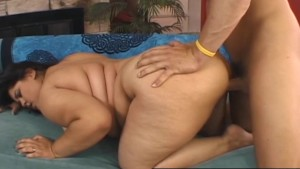 Tempting BBW Karla Lane fucks and sucks a lucky guy
