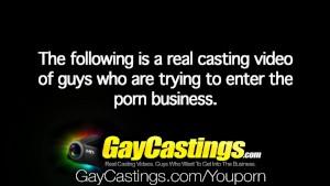 HD - GayCastings Ohio Farm boy tries porn to pay for studies