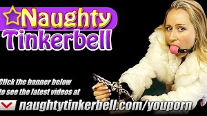 Master has fun fucking his real life hot Naughty Tinkerbell sex doll