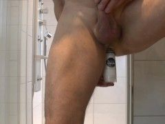 Picture Anal Play with Pseudo Dildo and jerk off