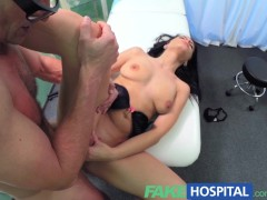 FakeHospital Sexy patient is given the cock cure in a bid to lift her spirits