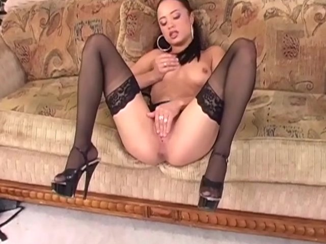 Stockings high heels porn for