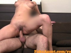 FakeAgent Horny teacher is looking for excitement and money in Casting
