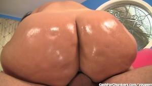 Damn This Girl's Got a Huge Booty!