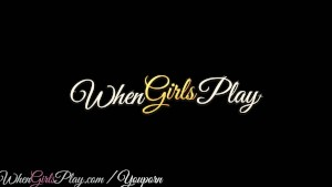 When Girls Play -  Two cute blonde lesbians