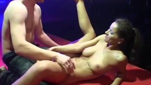 incredible porn on stage