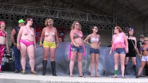 fresh meat biker wet tshirt contest in iowa