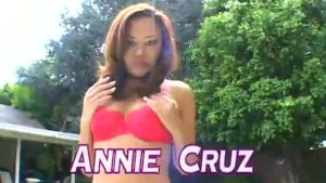 Annie Cruz loves playing rough