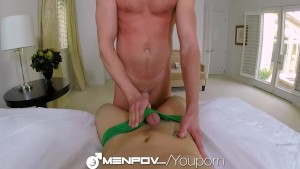 HD - MenPOV Twink wants to suck and fuck his friend after watching porn