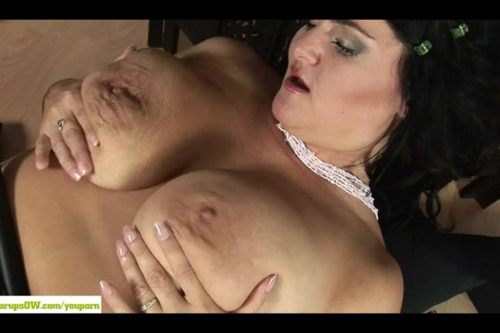 Big Titted Mature Slut Reny Masturbates