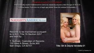 Hot babes Siri and Dayna Vendetta fuck in threesome
