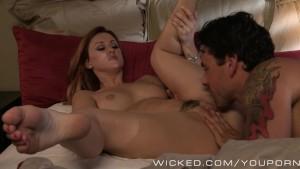 Wicked - Sexy redhead Karlie Montana loves cock
