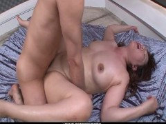 Picture Appealing fuck in threesome along horny Reik...