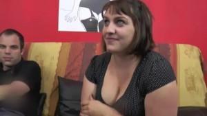 BBW brunette loves big cocks