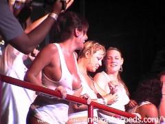 spring break 2006 wet tshirt topless nipple contest south padre island texas