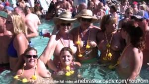 nudist pool party key west florida for fantasy fest dantes