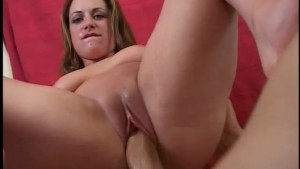 Horny Brunette Strokes Cock Until It Cums - Vixen Pictures