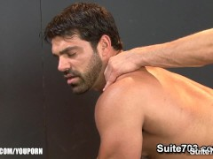 Picture Hot jocks fucking their tight buttholes in t...