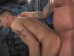 Picture Tattoo studs fucking - Raging Stallion