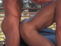 Picture Fucking on the balcony - Falcon