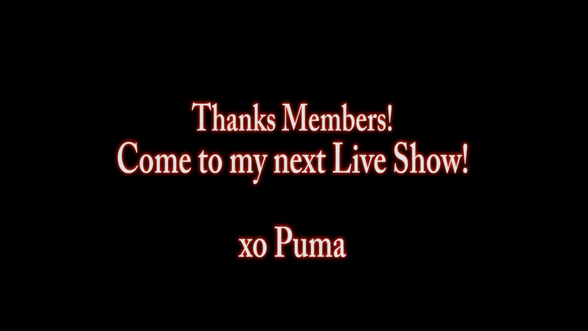 Puma Swede & Yuri Luvs Lesbian Big Tit Hoola Hoop!