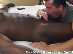 Picture Sucking BBC Personal Trainer Straight Dude