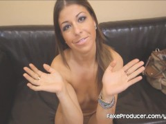 Mia Gold's First Porno Ever With The FakeProducer