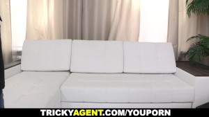 Tricky Agent - Tricked into making a sex clip