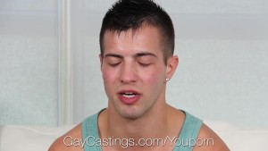 HD GayCastings - Newbie Casey Everett gets his ass stretched out on camera
